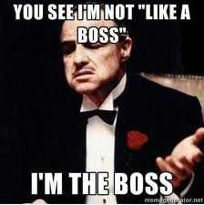How not to be the BOSS
